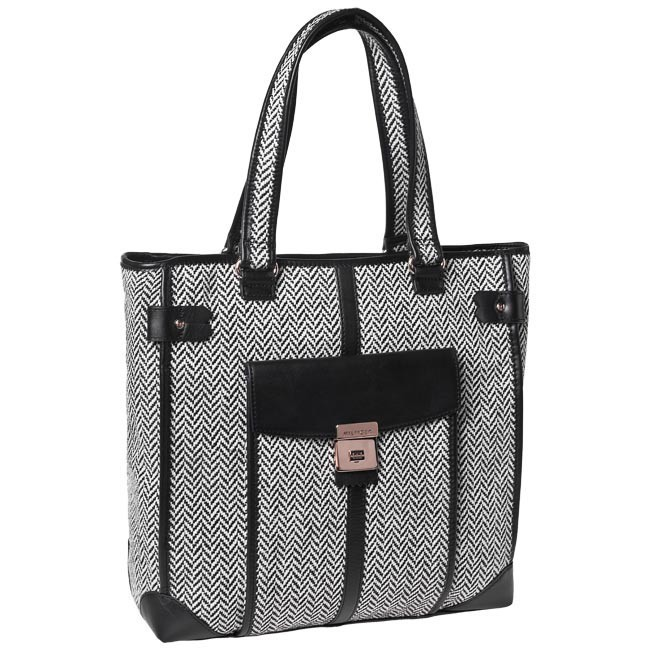 Handbag TOMMY HILFIGER - BW56921210  Black White