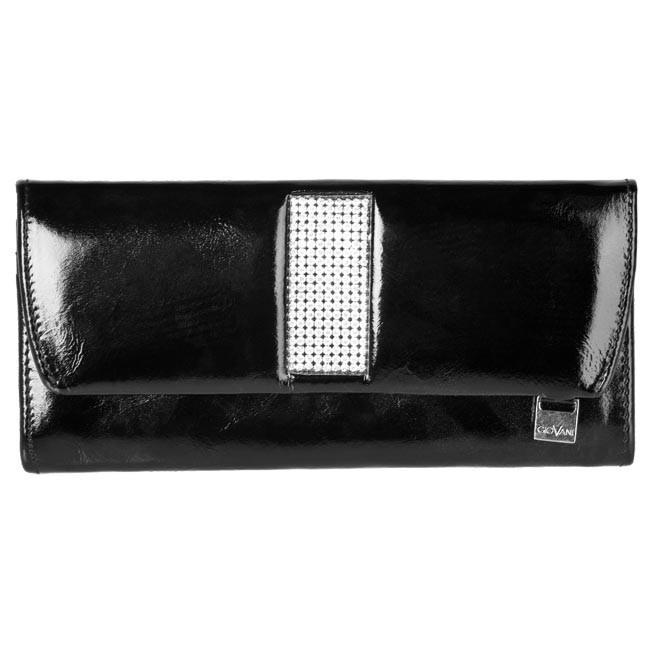 Large Women's Wallet GIOVANI - CV-360 Black