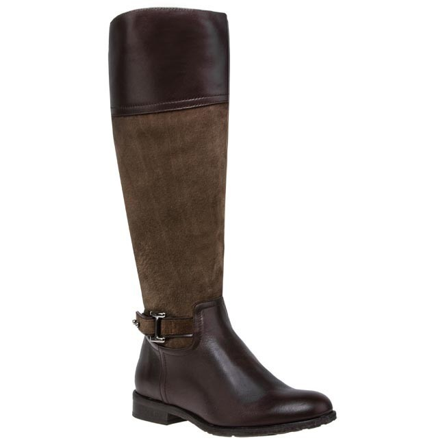 Knee High Boots BUT-S - T632-Z36-2R0 Brown
