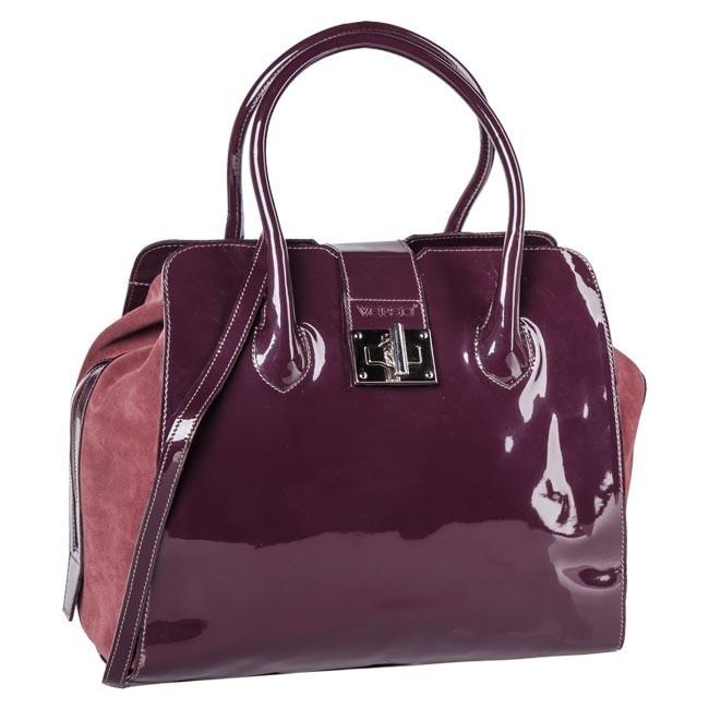 Handbag VERSO - 3049-9340A Dark Red