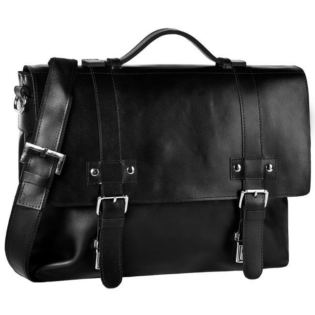 Briefcase OSKAR - 411 Black
