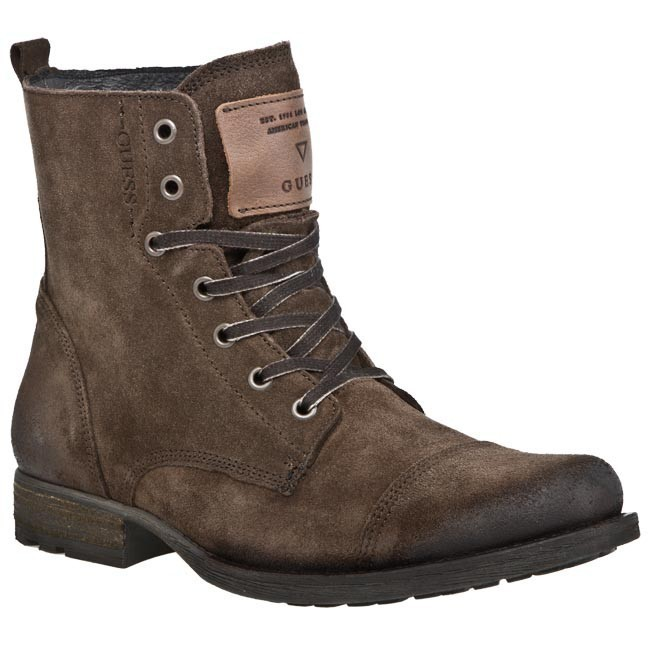 Boots GUESS - FM4JY4SUE11 Brown