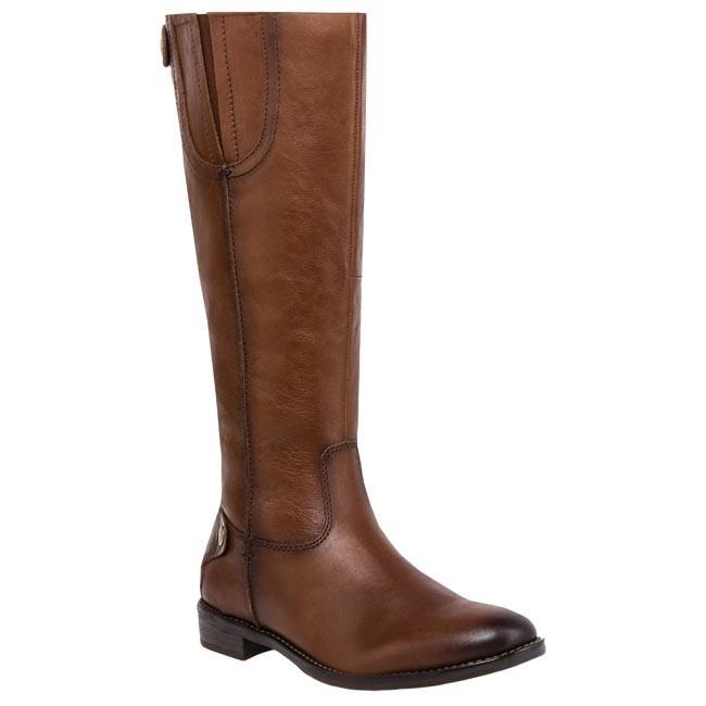 Knee High Boots TAMARIS - 1-25509-21 Muscat Bordo 358