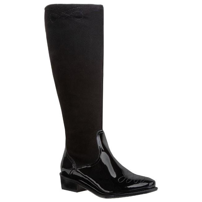 Knee High Boots SAGAN - 2177 Black
