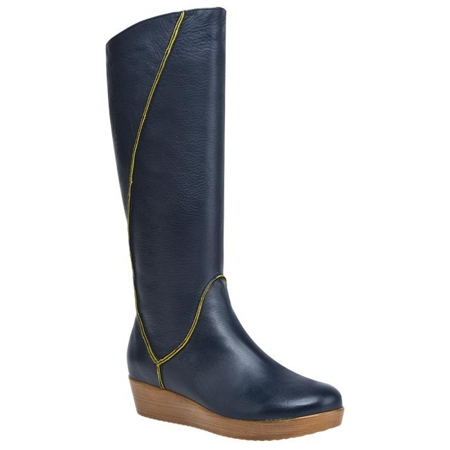 Knee High Boots BUT-S - T759-K23-2R0 (Domyślne) Blue