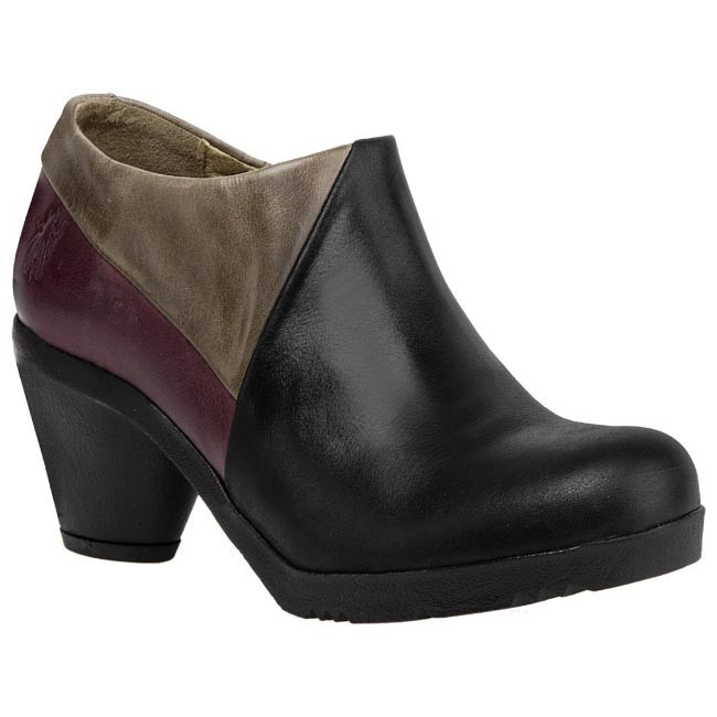 Boots FLY LONDON - Fuia P142752004 Black Purple Grey