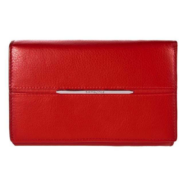 Large Women's Wallet SAMSONITE - 141-884-4 Ferrari Red