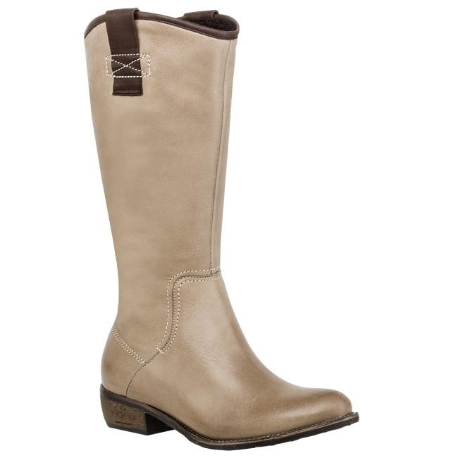 Knee High Boots EDEO - 1485-462/378 Beige Brown