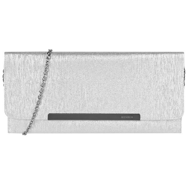 Clutch Bag MENBUR - 83406-0009 Silver