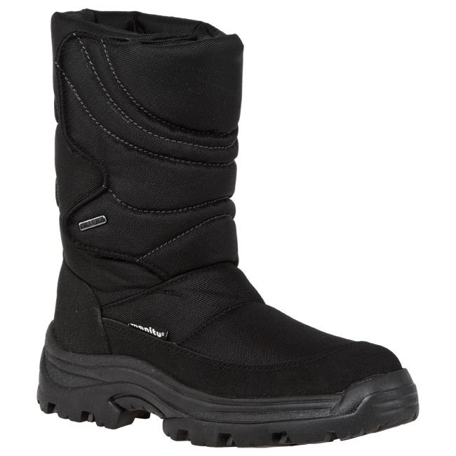 Snow Boots MANITU - 670205 Black