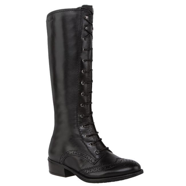Knee High Boots TAMARIS - 1-25580-30 Black 001