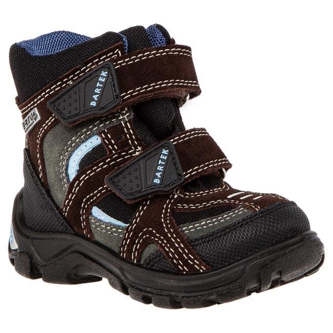 Snow Boots BARTEK - 31929-W47 Brown Grey