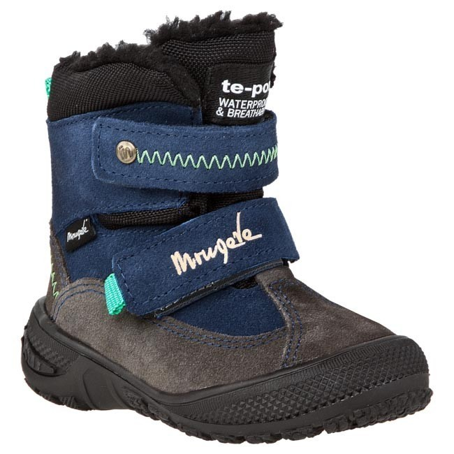 Snow Boots MRUGAŁA - 07129 -66 Blue Grey
