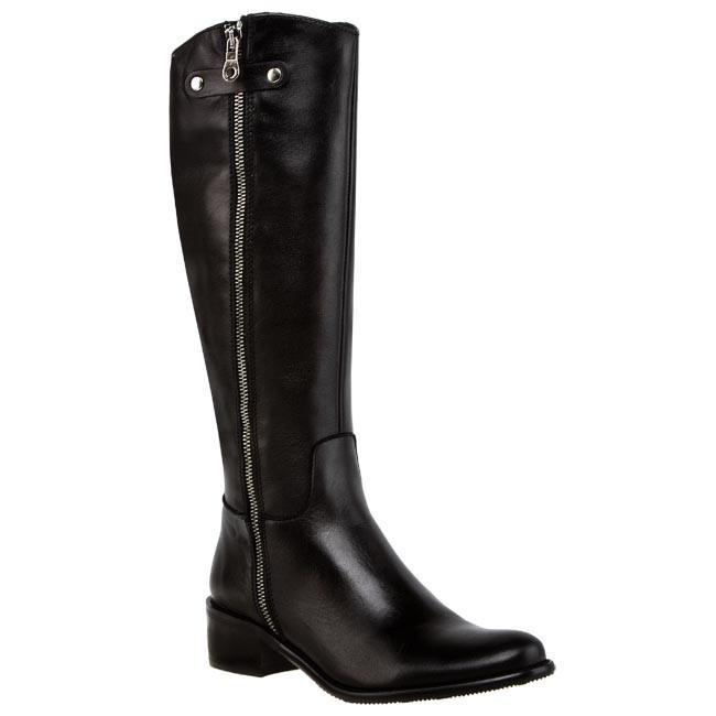Knee High Boots SAGAN - 2183 Black