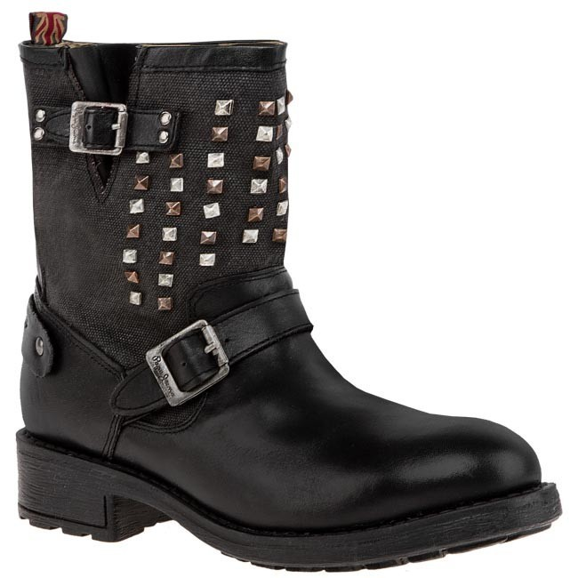 Boots PEPE JEANS - PFS50324 Black 999