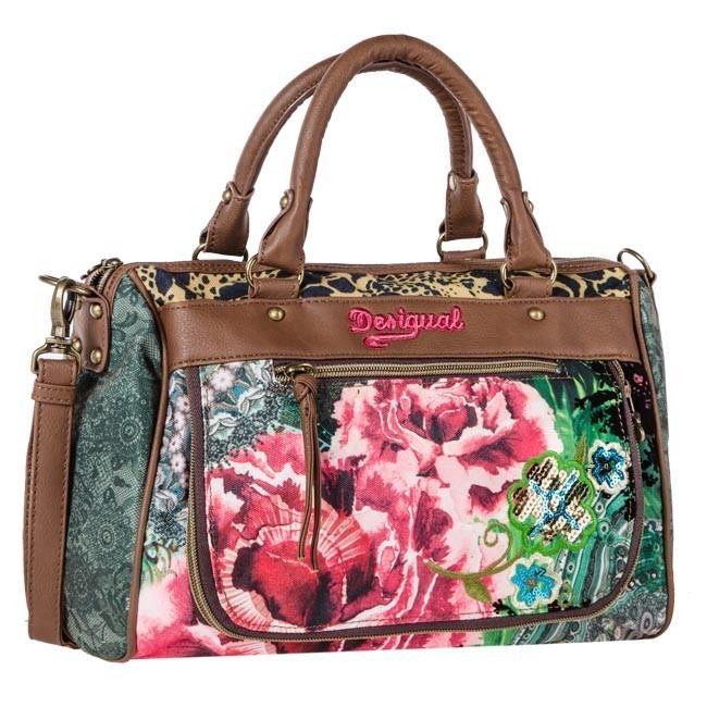 Torebka DESIGUAL - Bols Mirror Garden Flamenco 37X5061 4069