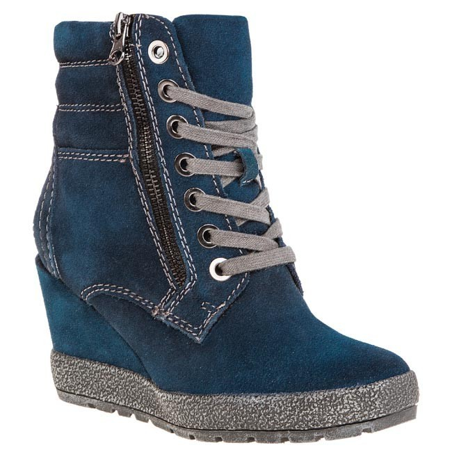 factory price usa cheap sale how to buy Boots MARCO TOZZI - 2-25117-21 Navy Antic 807