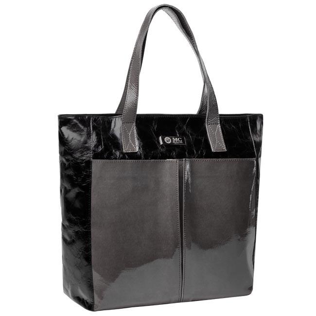 Handbag MC.BAGS - 907  Black Grey
