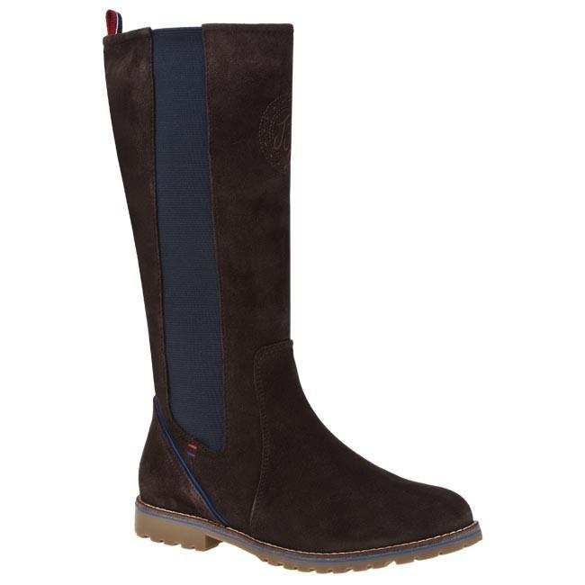 Knee High Boots TOMMY HILFIGER - Anna 1B FG56816241 Coffee Bean 212
