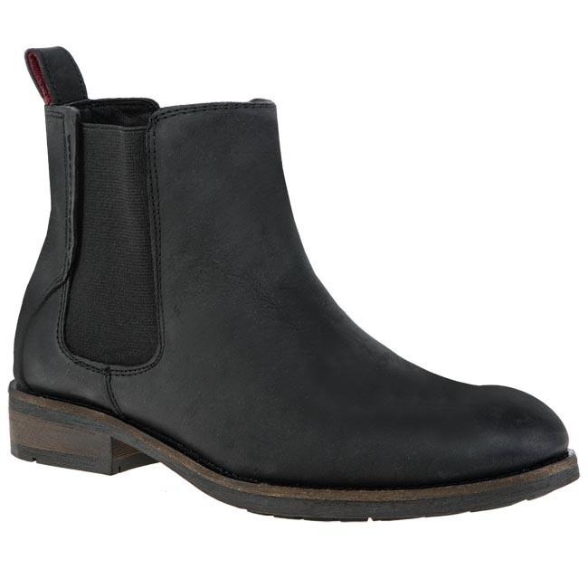 Ankle Boots TOMMY HILFIGER - DENIM - Darren 1A EM56816136 Black 990