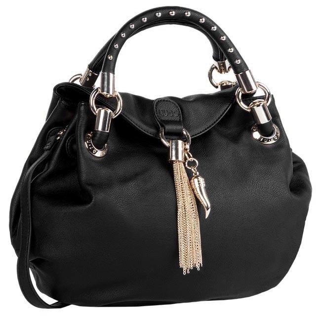 Torebka LIU JO - Shopping M Spophia A63028 E0038 Nero 22222