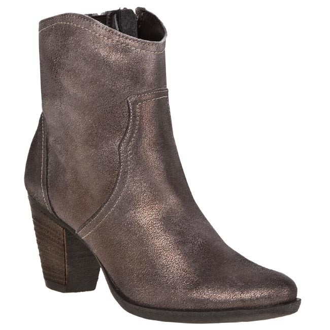 Boots TAMARIS - 1-25705-31 Tobacco Metal 490