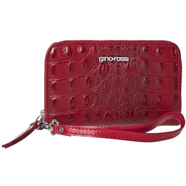 Large Women's Wallet GINO ROSSI - AFV041-GRD-BTBG-7100-X Red