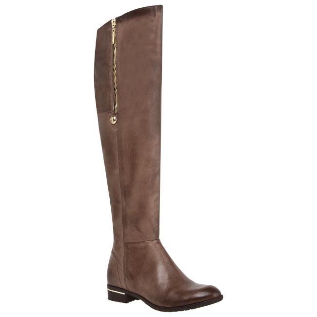Over-Knee Boots CARINII - B2132 New York Opal