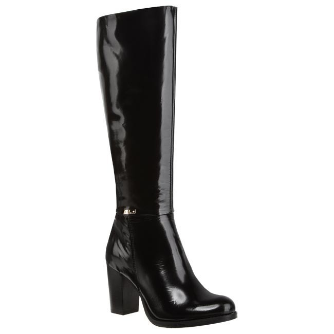 Knee High Boots CARINII - B1871 Black