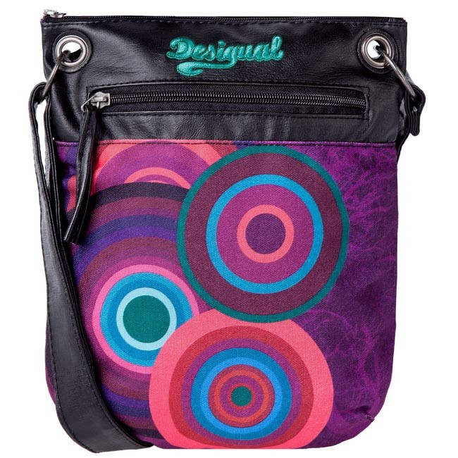 Handbag DESIGUAL - 37X5189/3117 Black Purple