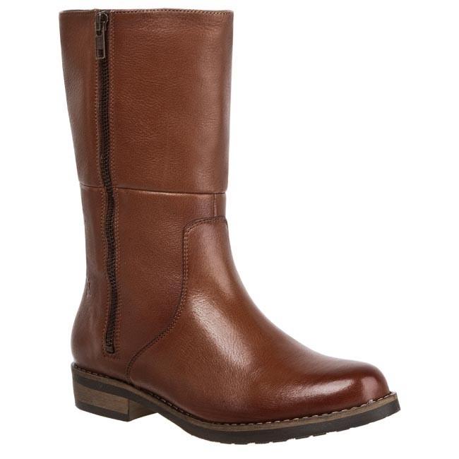 Knee High Boots MACIEJKA - 01078-29 00-3 Savage Cognac