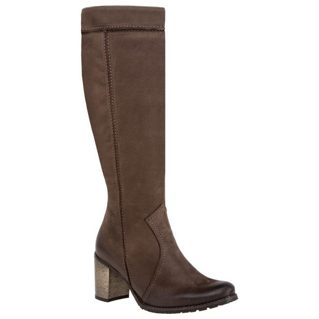 Knee High Boots EDEO - 1488-448 Brown