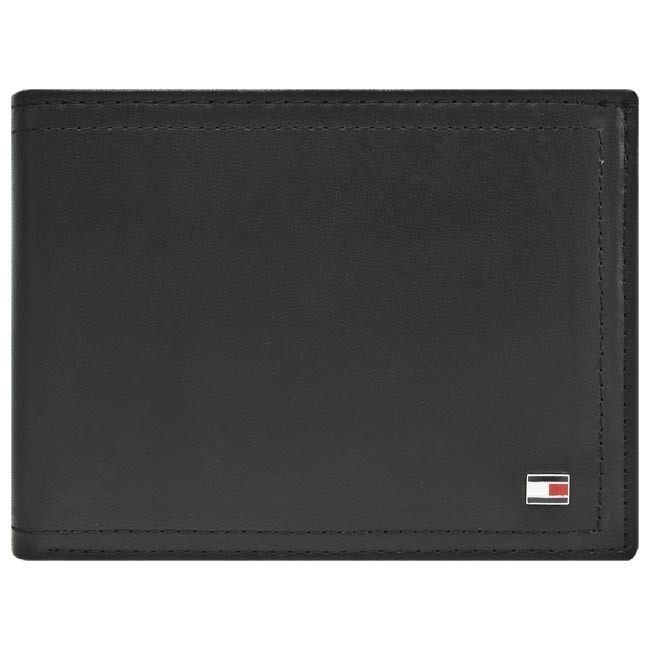 Duży Portfel /Męski TOMMY HILFIGER - Sheldon CC Flap And Coin BM56921082 990