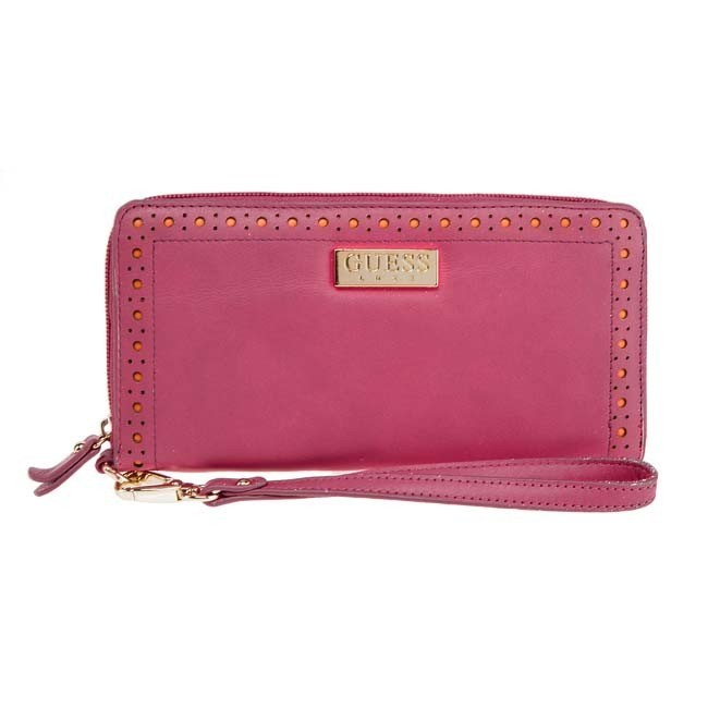 Large Women's Wallet GUESS - SWBRPOL3246 Pink