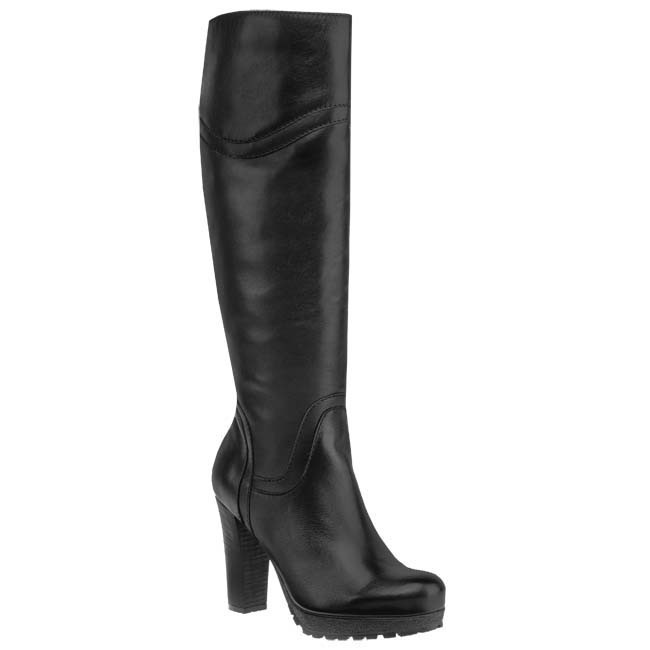 Knee High Boots BUT-S - T766-Z60-2P0 Black