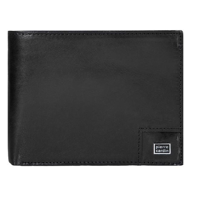 Large Men's Wallet PIERRE CARDIN - Z10-01-007-10 Black