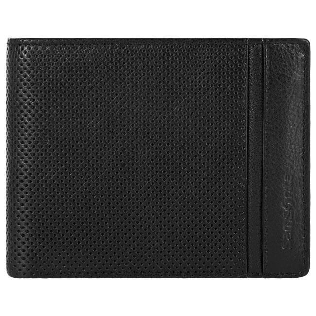 Large Men's Wallet SAMSONITE - 147-290 Black