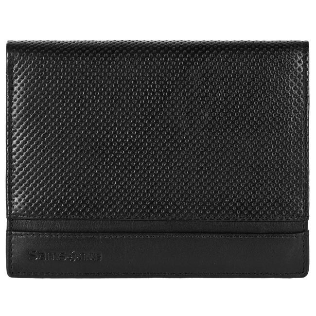 Large Men's Wallet SAMSONITE - 147-265 Black