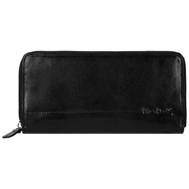 Large Women's Wallet PIERRE CARDIN - Z10-01-001-10 Black