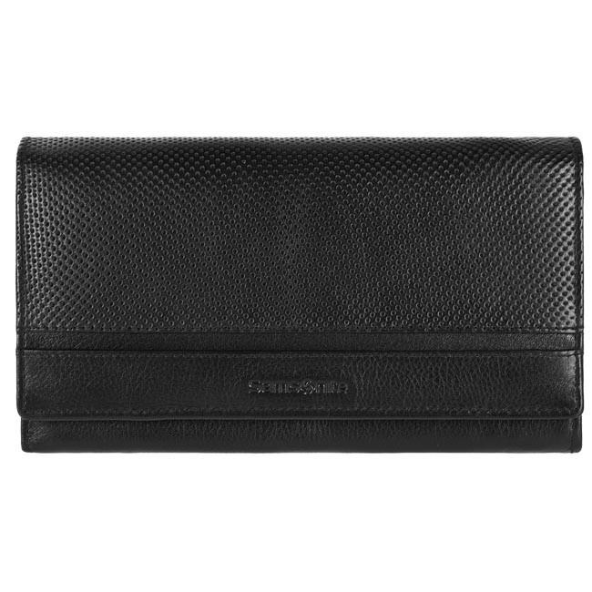 Large Women's Wallet SAMSONITE - 147-270 Black