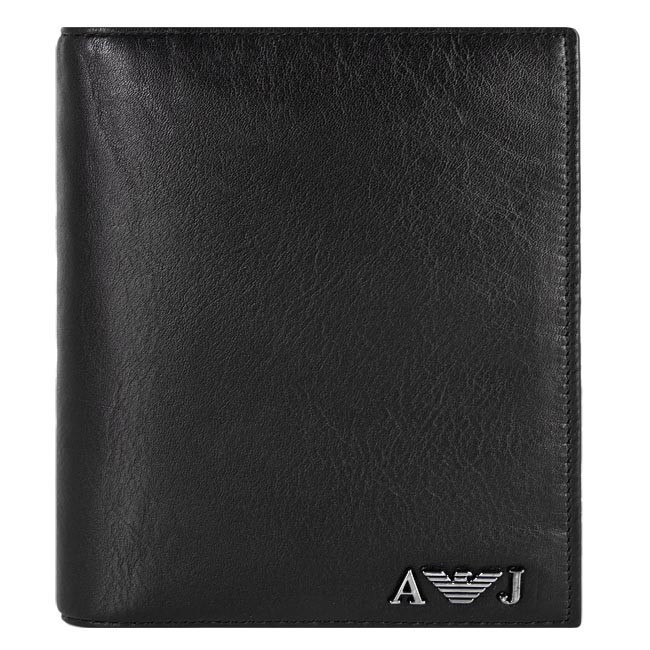 Large Men's Wallet ARMANI JEANS - 06V69 Q7 12 Nero 12