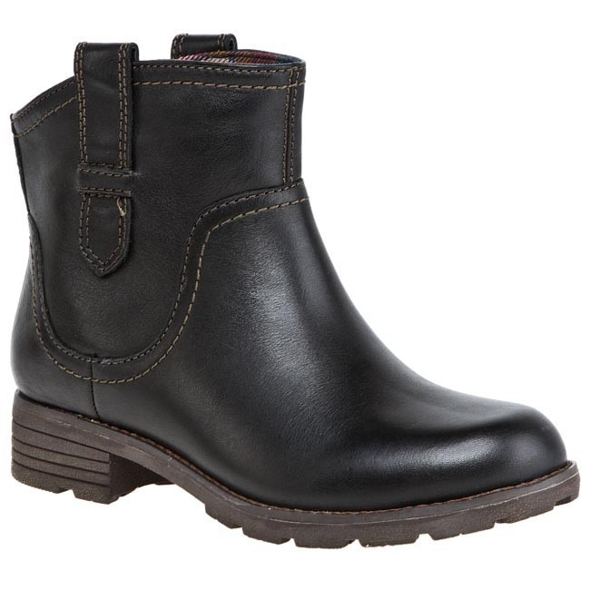 Boots CLARKS - National Sweet 20355643 4 Black Leather