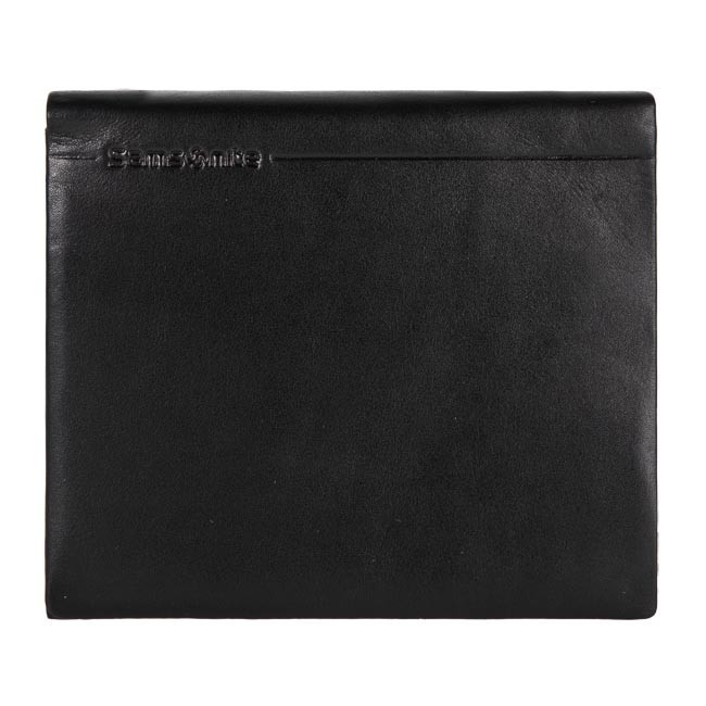 Large Men's Wallet SAMSONITE - 139-275 Black