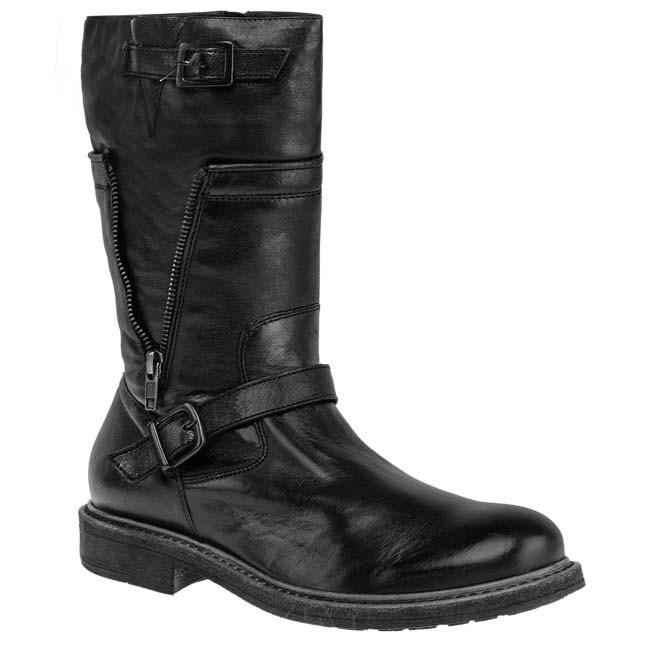 Knee High Boots GINO ROSSI - MKV033-707-3Q00-9900 Black