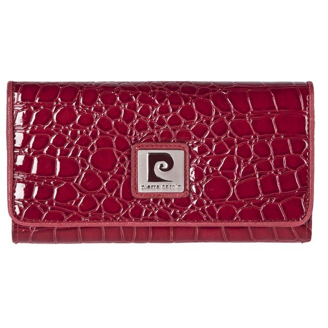 Large Women's Wallet PIERRE CARDIN - Z10-03-005-36 Red
