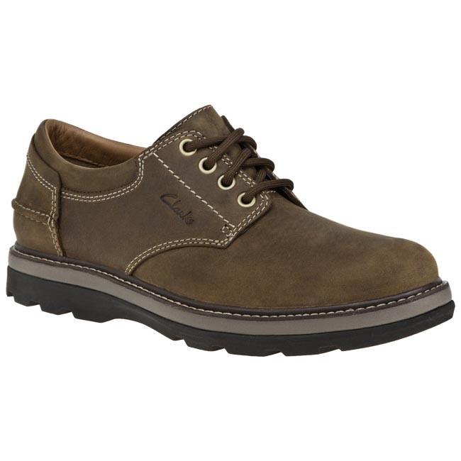 Shoes CLARKS - 203565527 Tobacco Nubuck