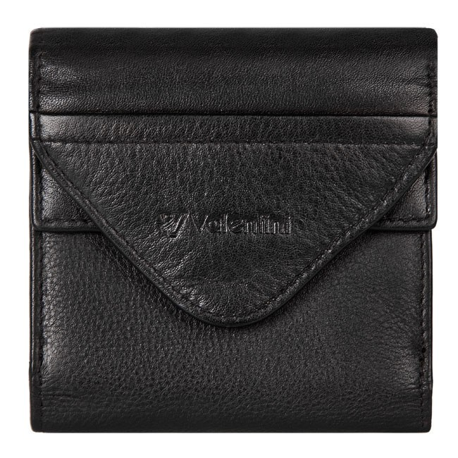 Small Men's Wallet VALENTINI - 154-417-1 Black