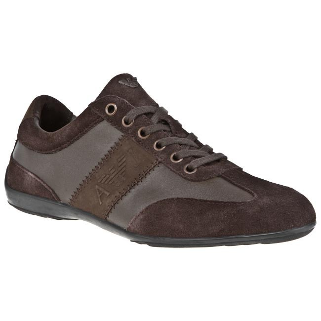 Sneakers ARMANI JEANS - U6534 L6 7G Brown 7G