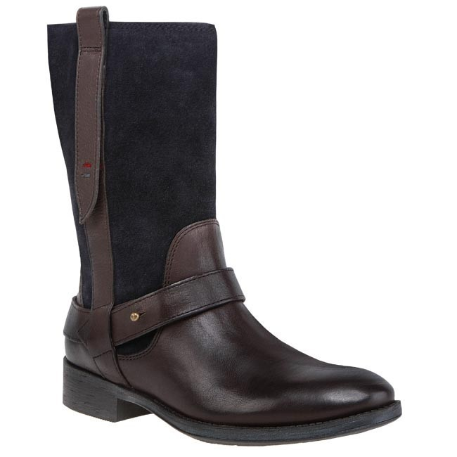 Boots TOMMY HILFIGER - FW56816025 Midnight/Coffee Bean 403