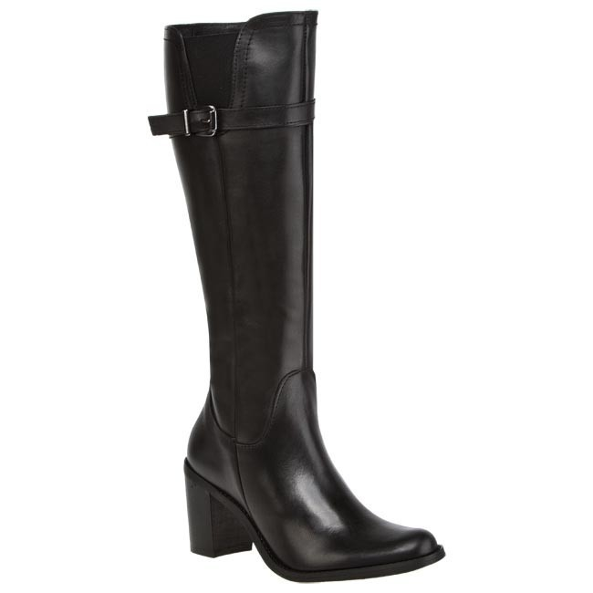 Knee High Boots VENEZIA - ST07 Black
